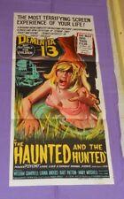 original DEMENTIA 13 Australian daybill movie poster
