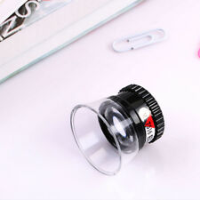 Jewellers Monocle Magnifying Eye Glass- 15x Magnify Loop Loupe Inspection Repair