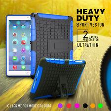 Heavy Duty Shock Proof Tough Case Cover for iPad Mini , Air, Pro, iPad 4 3 2