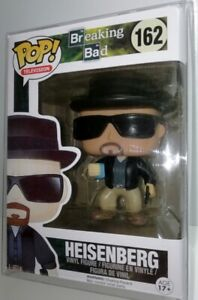 FUNKO POP! BREAKING BAD HEISENBERG #162 (2014) CUSTOM - MINT + PROTECTOR