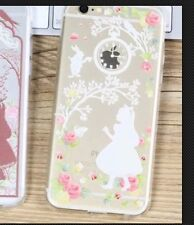 Disney Alice In Wonderland Clear Silicone Gel Case For iPhone 7 Or 8 PLUS. Gift