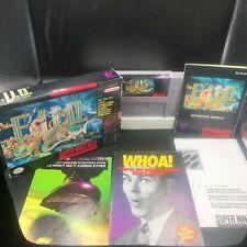 E.V.O.: The Search for Eden (Super Nintendo SNES, 1993) 100% Complete GOOD EVO