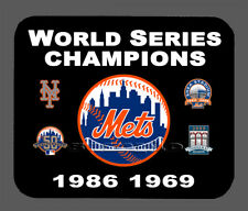 New York Mets World Series Championship Banner Mouse Pad Item#1907