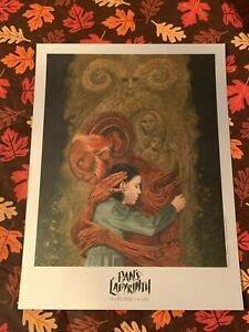 PAN'S LABYRINTH The Labyrinth Of The Faun NYCC EXCLUSIVE FOIL POSTER 2019 Rare
