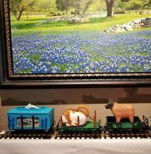 LGB G Scale Lehmann Toy Train Cars Super Rare Set 94905, 94969, 94092 Playmobil