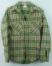 BIG MAC JC Penney men's Small Thick Flannel Field Jak Shirt colorful VINTAGE