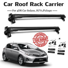 Cars Top Roof Bars Rack Box NO Rails Lockable Anti Theft For Ford Focus Focus