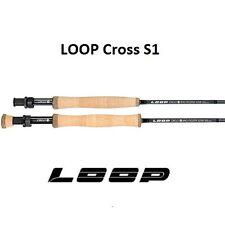 LOOP CROSS S1  (Flatsman) 9' #10 Fly Rod 4PCE ** New in 2019 ** CROF1090-4MF