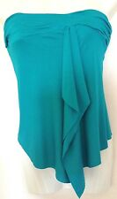 From Look~Green Bandeau Top~With Brooch  Size UK8 ~rrp £16 ~ (R10)