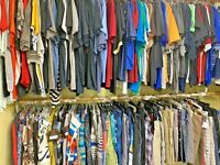 Wholesale Bulk Lots 10pc - 100pc Clothing Lot Resell Men's New & Used
