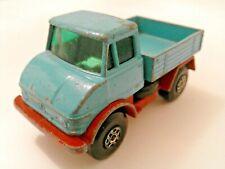 Matchbox Superfast Lesney Mercedes Benz Diecast Unimog Pick Up Truck No.49