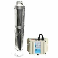 """Schraiberpump 4"""" Deep Well Pump 1.5HP 230v 443FT 20GPM 191psi 3 wire control box"""