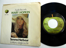 MARY HOPKIN picture sleeve APPLE 45 Temma Harbour b/w Lontano Dagli Occhi w5356