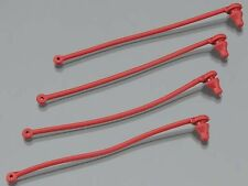 Body Clip Retainer Red Spartan (4)  Traxxas  TRA5752