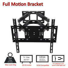 """TV Wall Mount Bracket Full Motion Extend Up to 18.5"""" for 26-55 inches 400x400mm"""