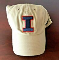 UNIVERSITY OF ILLINOIS FOOTBALL TEAM ISSUED NIKE HAT LOVIE SMITH HEAD COACH NEW
