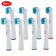 8 pack Replacement Brush Heads Refill for Oral-B Pro 1000 3000 5000 Toothbrush