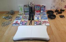 Nintendo Wii Konsole, 17 Spiele, 3 Controller, 3 Nunchuk, Balance Board u.v.m.