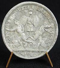Médaille Louis XIV Les Allemands chassés d'Alsace 1675 Allemagne Germany medal