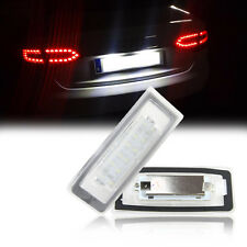 Car LED License Number Plate Light No Error For Audi TT Roadster 8N9 Coupe 8N3