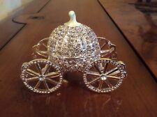 CINDERELLA DIAMONTE COACH KEEPSAKE IDEAL FOR BRIDESMAID , BABY SHOWER GIFT