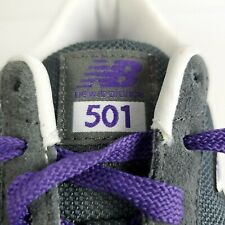 941a7460410ba NEW BALANCE 501 Size 10 Womens Purple Running Shoes Sneakers Trainers  Raptors