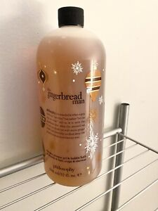Philosophy Gingerbread Man 32 oz. Sealed with Pump