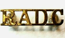 WW2 Royal Army Dental Corps Shoulder Title Genuine