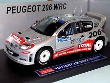 PEUGEOT 206 WRC #2 RALLY  FINLAND 2002 GRONHOLM SUN STAR 3852 1:18