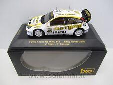 1:43 FORD Focus RS WRC FastWeb Valentino Rossi Rally Monza 2006 IXO RAM255