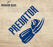 "PREDATOR DECAL CAR LAPTOP DIY VINYL PREDATOR VS ALIEN MOVIE 20 COLOR CHOICES 5"""