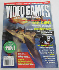 Video Games Magazine Top Gun & Resident Evil April 1996 081414R