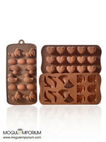 Easter Egg Easter Bunny Duck & Heart Shape Silicone Chocolate Mould Decoration
