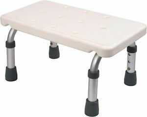 New Medokare Adjustable Foot Stool Stepping Stool Non Slip Portable For All Ages