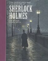Adventures and the Memoirs of Sherlock Holmes by Doyle, Arthur Conan -ExLibrary