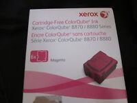 Xerox Cartridge Color Cube Ink  Magenta  8870 / 8880 Series 6 Sticks 108R00951