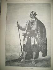 MONTENEGRIN TYPE DESTRUCTION NAVIRE TURC HIFSE-RAHMAN ETRETAT GRAVURES 1877