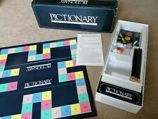 Parker Pictionary The Quick Draw Board Game Used Good Condition Family Fun