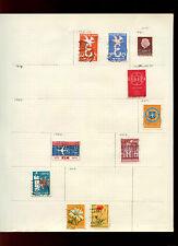 Página del álbum de Países Bajos de sellos #V5000