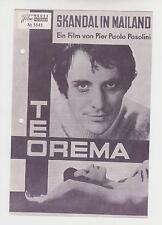 Teorema (WNF 5545) - Terence Stamp / Pasolini