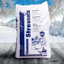 2 x 25 kg Streusalz Deutsche Salinen Qualität Auftausalz TOP Qualität Winter