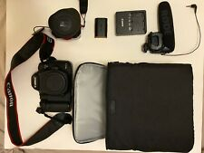 Canon EOS 5D Mark III DSLR Camera ++ Rode video mic, Zacuto eyepiece, case