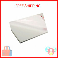 New Listingpolycarbonate Clear Plastic Sheet 12 X 18 X 00625 116 Exact Shatter