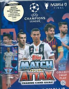2018/19 Uefa champions league extra road to Madrid 19 starter pack
