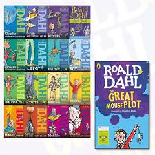 Roald Dahl Children's Collection 16 Books Set With Roald Dahl Great Mouse Plot