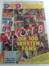 POP Rocky 11/91 NKOTB Seal Bart Simpson EMF Vanilla Ice Poster u.a.