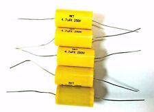New listing 5 pcs. 4.5 uf 250V Mkt Capacitors