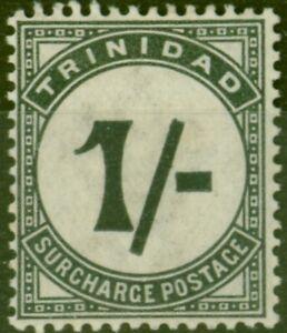 Trinidad 1885 1s Slate-Black SGD9 Fine Mtd Mint (2)