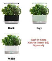 In Home Garden System, Control Panel, LED Lights, Gourmet Herb Seed Kit, No Mess