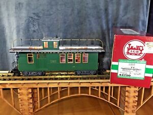 LGB 44750 Colorado & Southern Caboose * Metal Wheels & Lighting * G Scale *